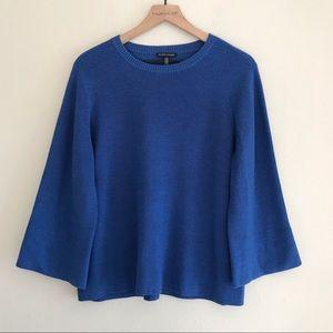 Eileen Fisher | Merino Wool Wide Sleeve Sweater M